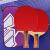 红双喜一星二星三星ラケトは、学生の初心者を入れて、猛スピードで王兵パンを二本横取りします。