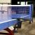 厚い卓球の網棚の卓上の台のネットの柱の網棚はネットの室外をくわえて厚い8 cmの螺旋の306-2をプラスします。