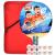 紅双喜(DHS)四星ラケト直拍両面反ゴム競技型E-E 406含写セット卓球ボール