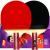赤双喜拉ケト+卓球セット3星4星卓球ppqp撮影済みの写真(4006短柄ストレート)両面テープ(シングル)はスターピンポンボール1をプレゼントします。